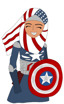 Captain America Muslim Version