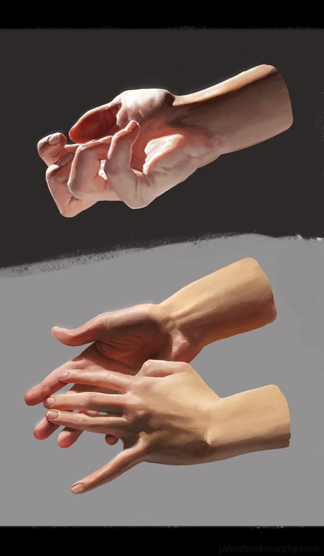 hand studies by johnderekmurphy