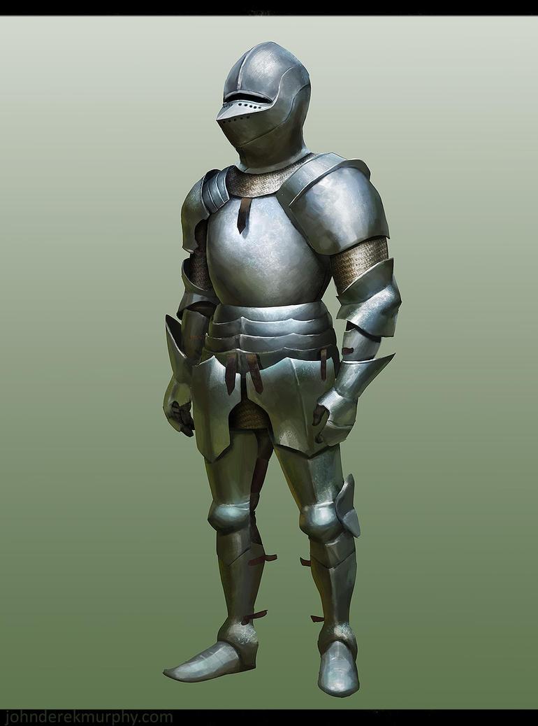 Armor Study from Imagination by johnderekmurphy