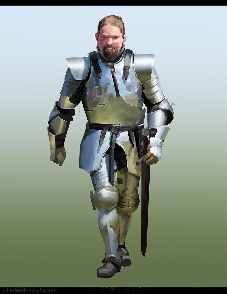 Armor Study 2 by johnderekmurphy