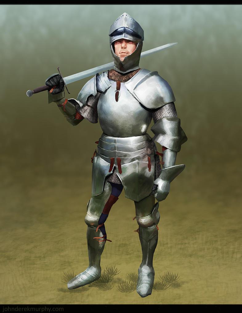 Armor Study 1 by johnderekmurphy