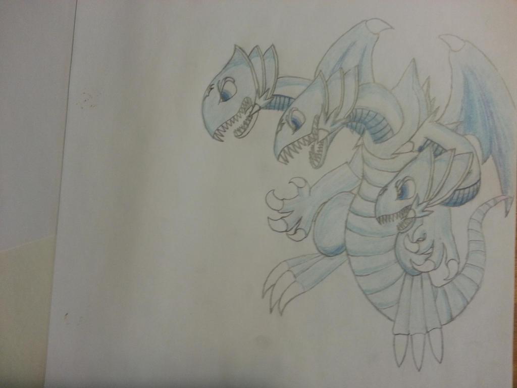 blue eyes ultimate toon dragon by velockx on deviantart