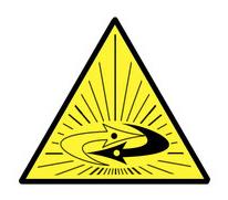 Antimatter Hazard Label by ronbennett