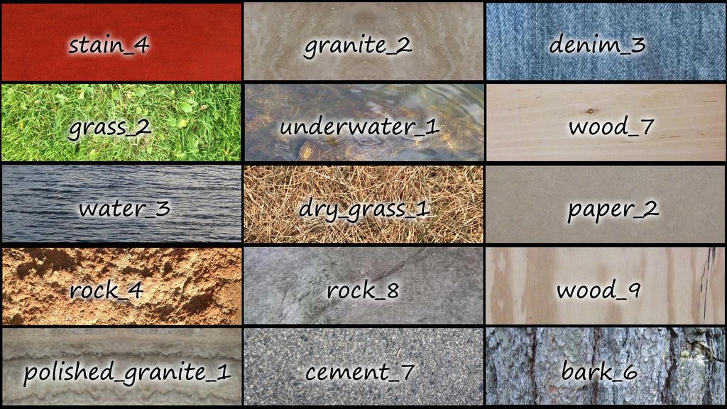 Texture Pack by ronbennett