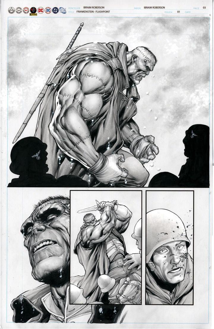 Frankenstein page 03 by IbraimRoberson