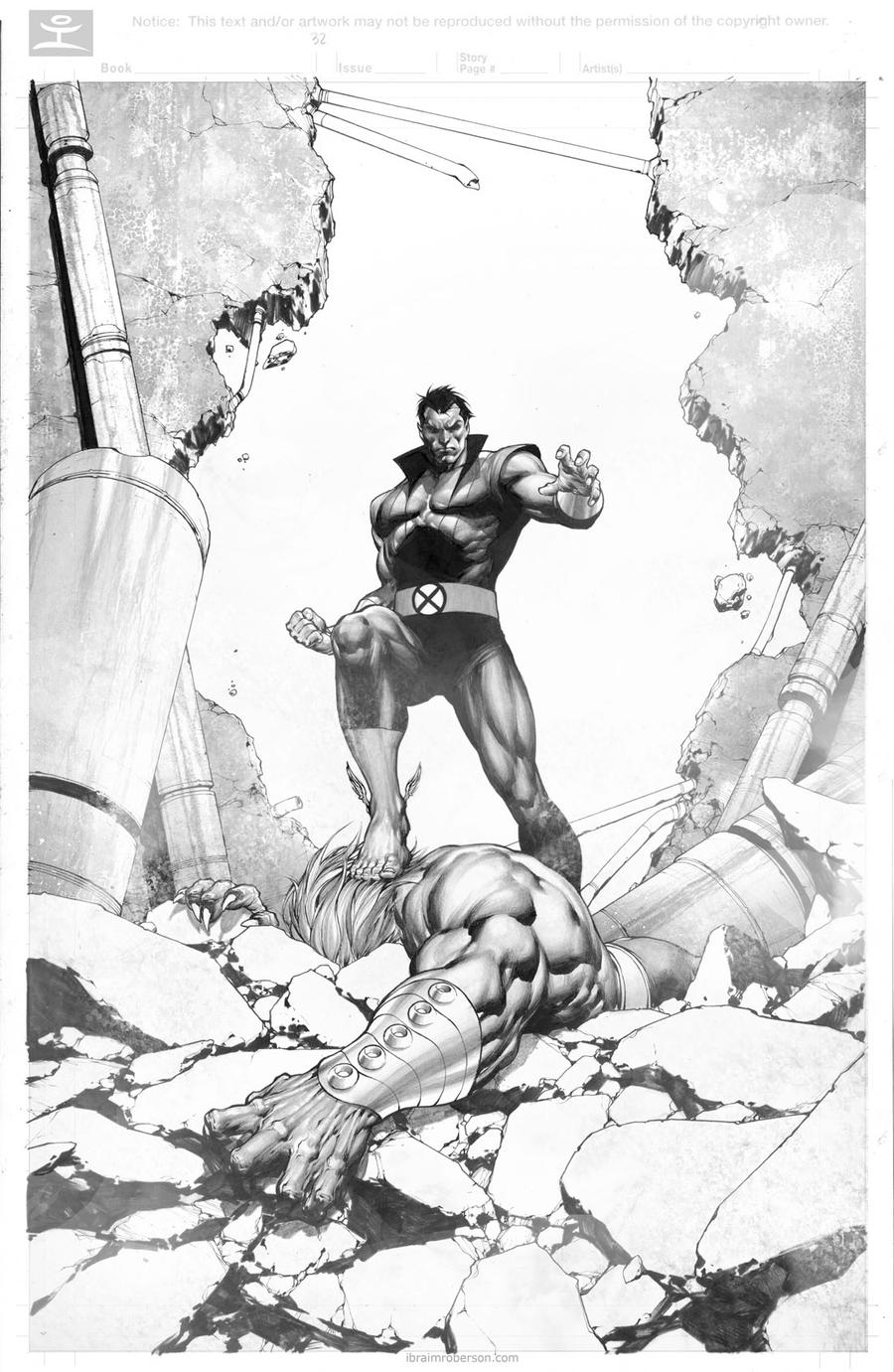 Namor and Blastaar by IbraimRoberson