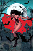 Vampirella COVER COLORS by IbraimRoberson
