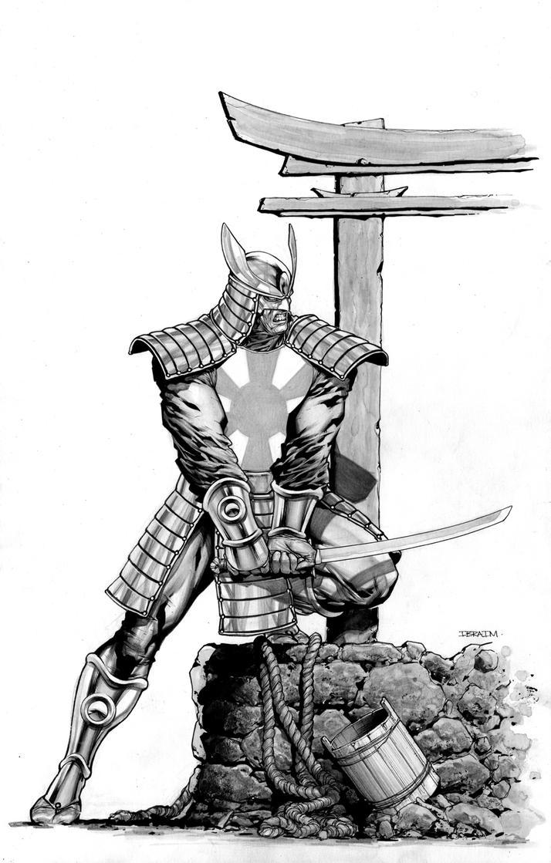 Silver Samurai by IbraimRoberson