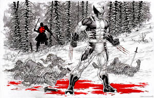 Wolverine: Snow and Blood