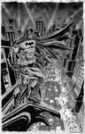 Batman Over Gotham