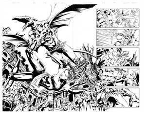 Uncanny X-Men - Spread - Sauron