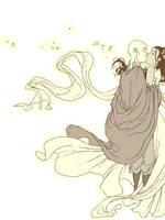 Kataang Wedding Doodle by QueenOfTheCute