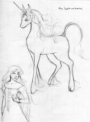 the last unicorn by QueenOfTheCute