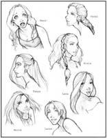 Mermaid Series by QueenOfTheCute