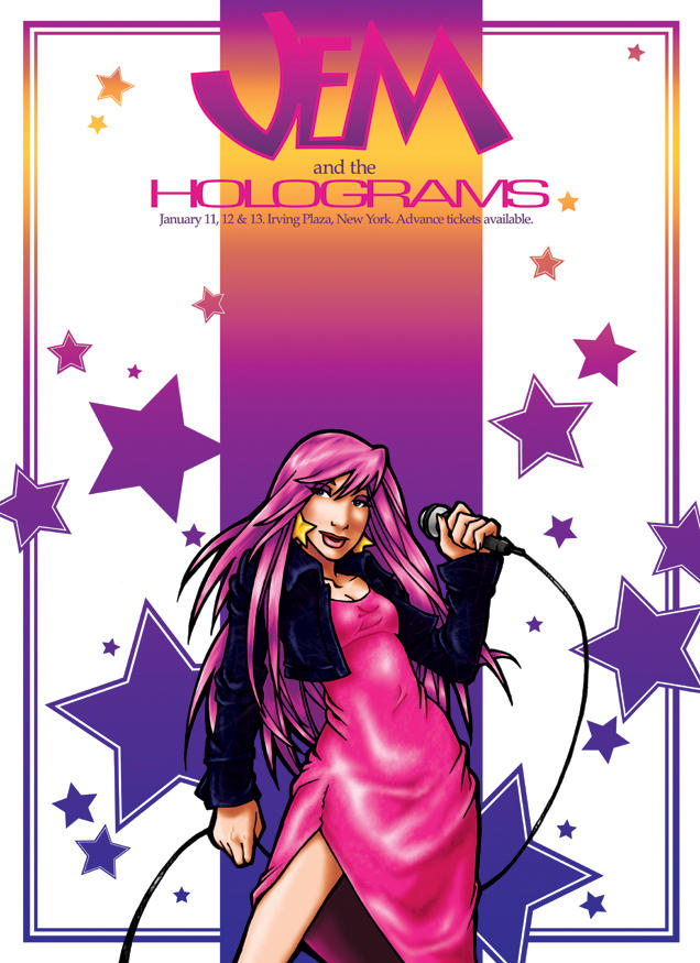 Jem and the Holograms by tachiban18 on DeviantArt