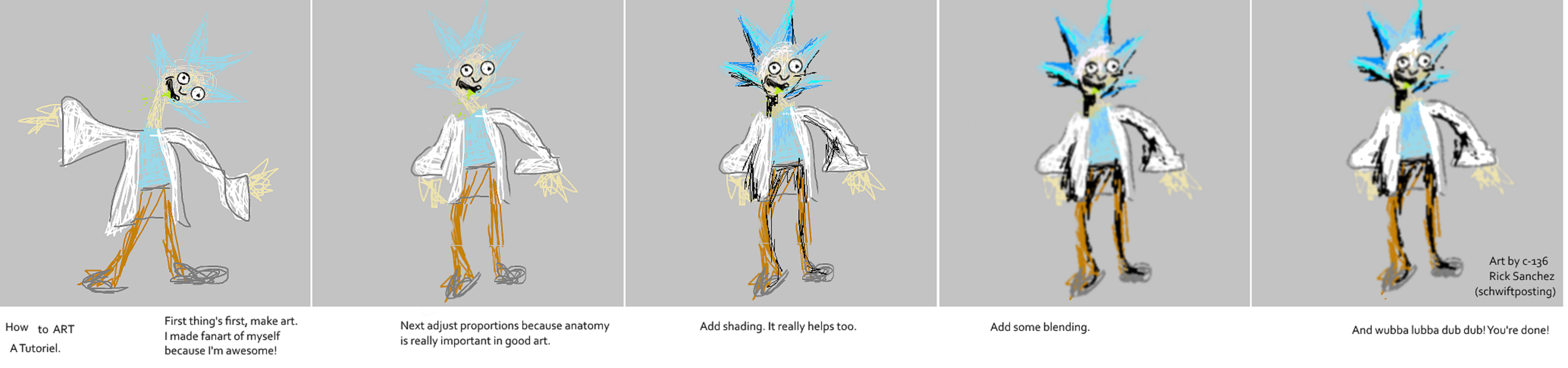 how to improve your art a tutorial by schwiftposting on deviantart