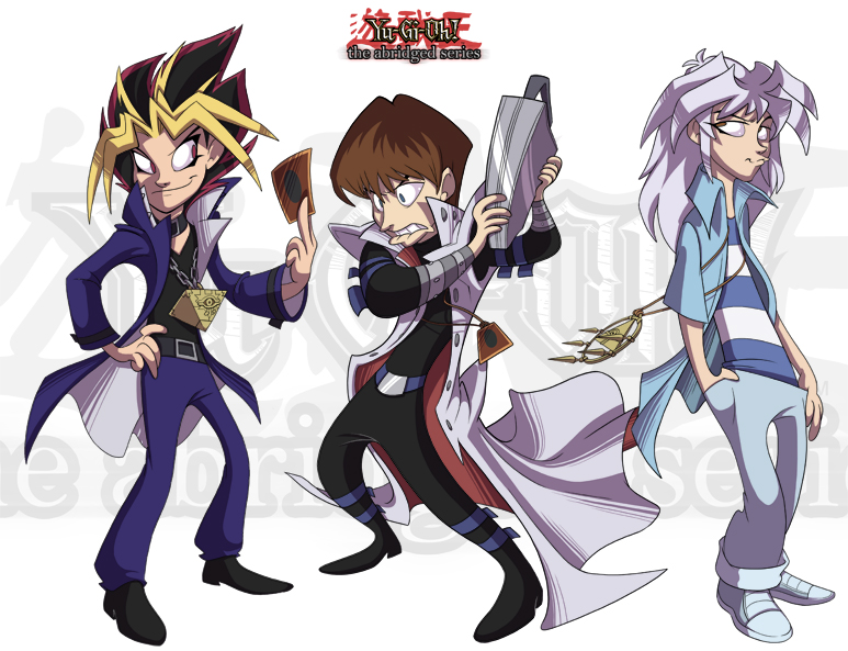 YGOTAS: Two sexy duelists by yugioh-abridged