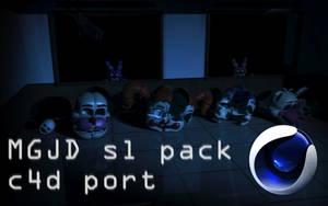 MGJD sl pack c4d Port release! (fixed link) by Popi01234