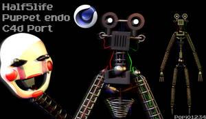 Half5Life Puppet Endo C4d port by Popi01234