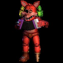 Stylised Rockstar Foxy Idle Animation by Popi01234