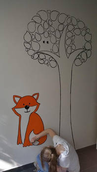 First wall painting!