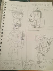 More team DeviantArt as cod zombie characters  by thelatiosmaster90