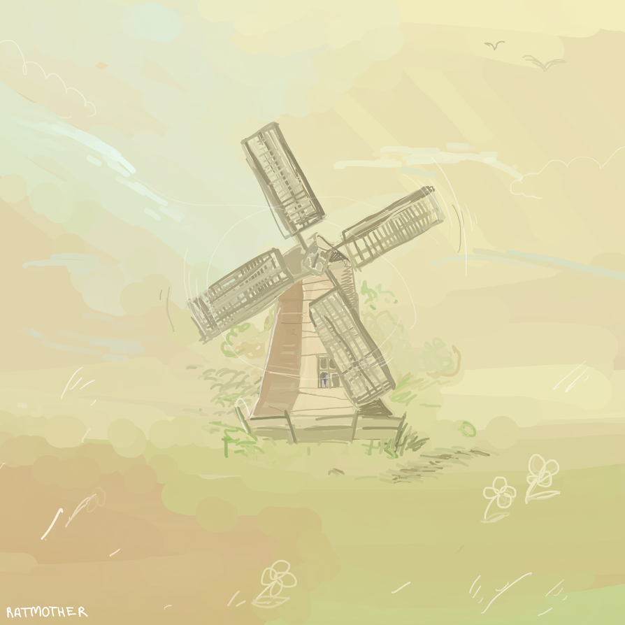 the windmill by rat-mother