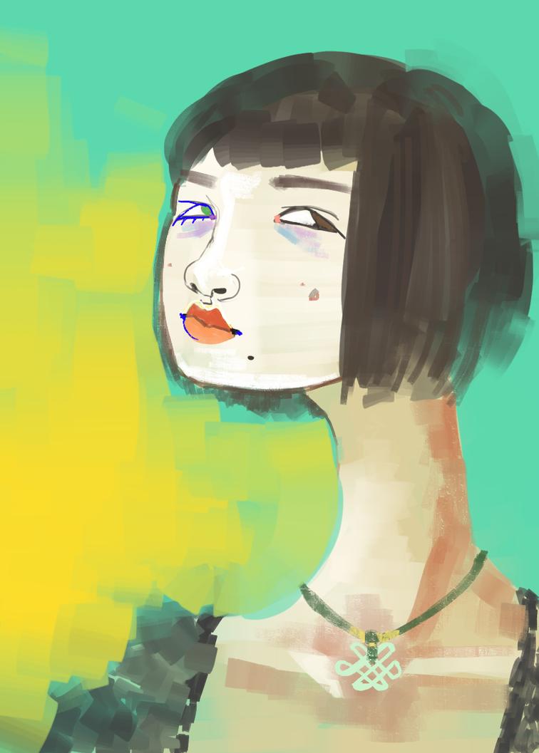 self portrait by rat-mother