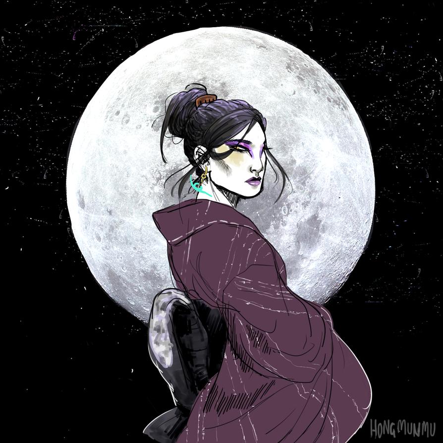 la lune by rat-mother