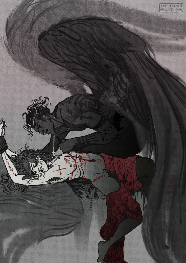 ritual sacrifice by rat-mother