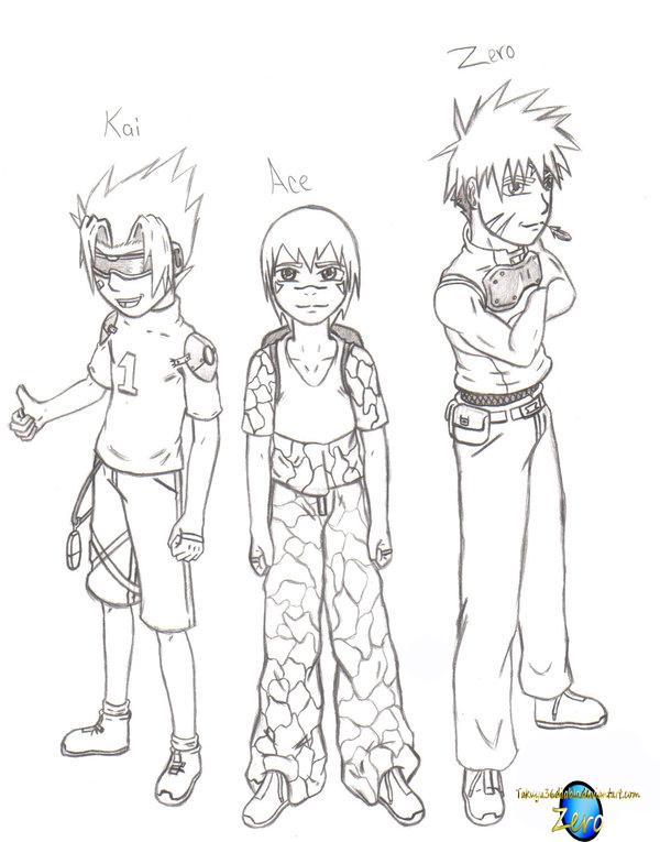 Megaman ZX Trio by takuya36diablo