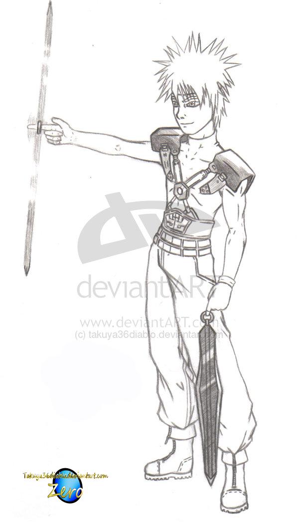 Rei- Soldier 3rd Class by takuya36diablo