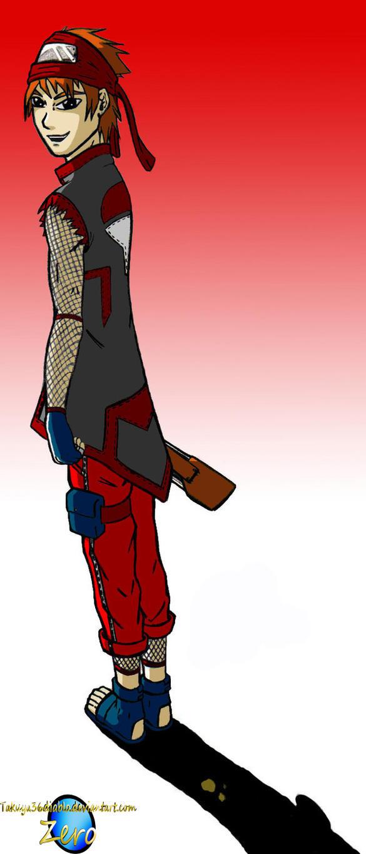 Uchiha Elite Senior Colored by takuya36diablo