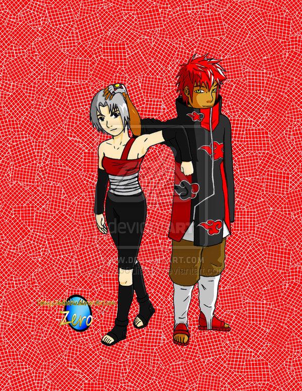 Akatsuki Bonds colored by takuya36diablo