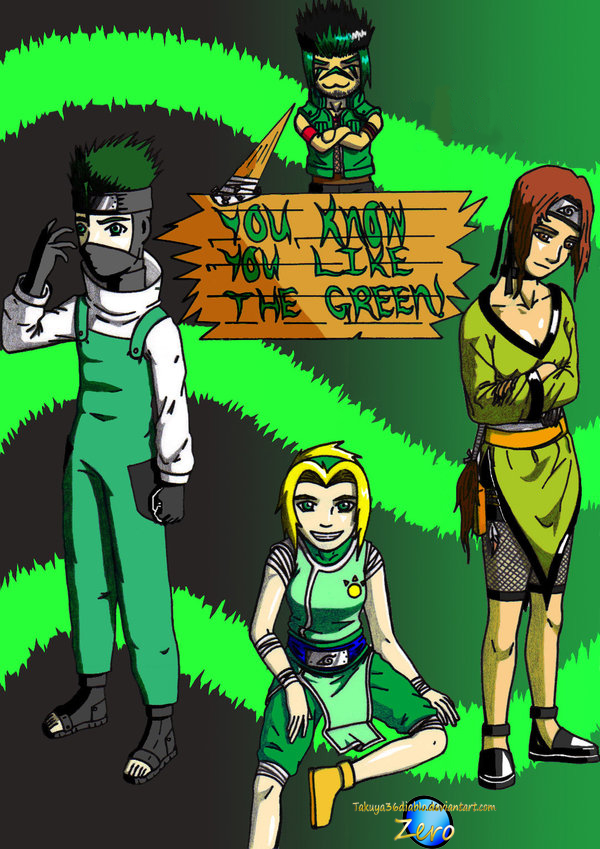 You Know You Like the Green 2 by takuya36diablo