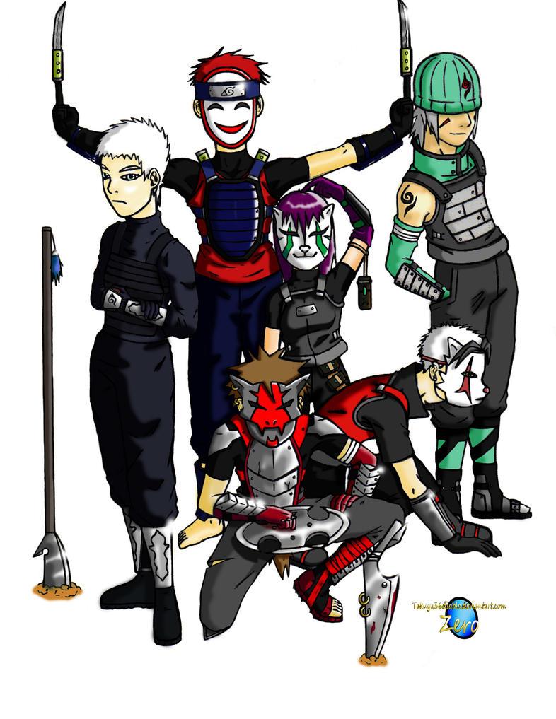 ANBU Elite Squad by takuya36diablo