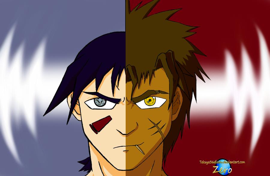 Kuzai and Ryu by takuya36diablo