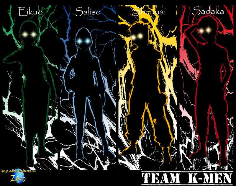Team K-Men's Blackout Alter. by takuya36diablo