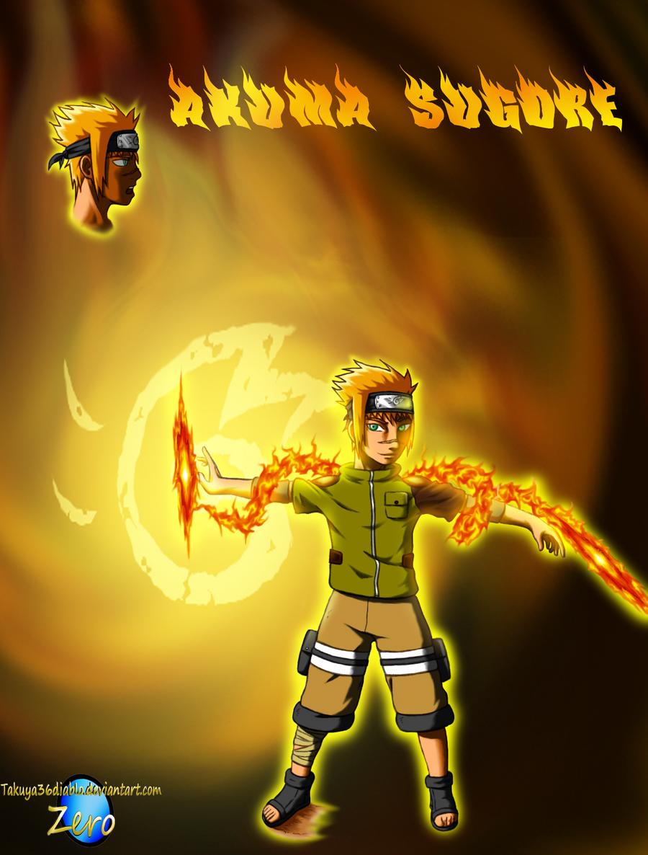 Akuma Sugore of the Blaze by takuya36diablo