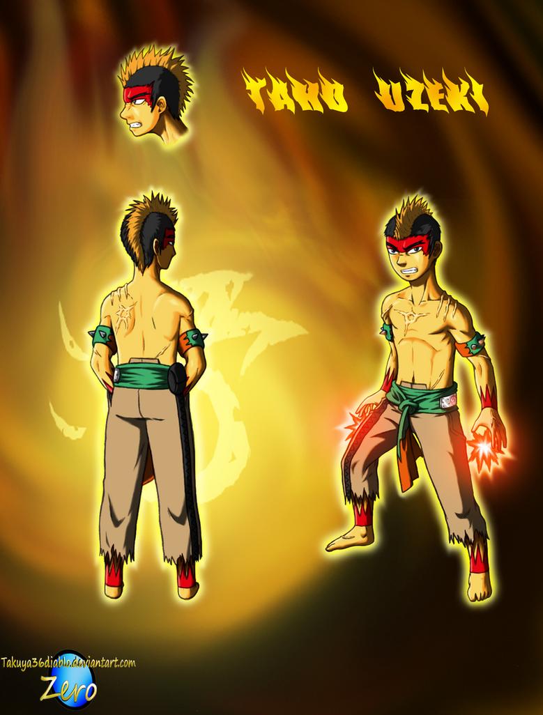 Taho Uzeki of the Blaze by takuya36diablo