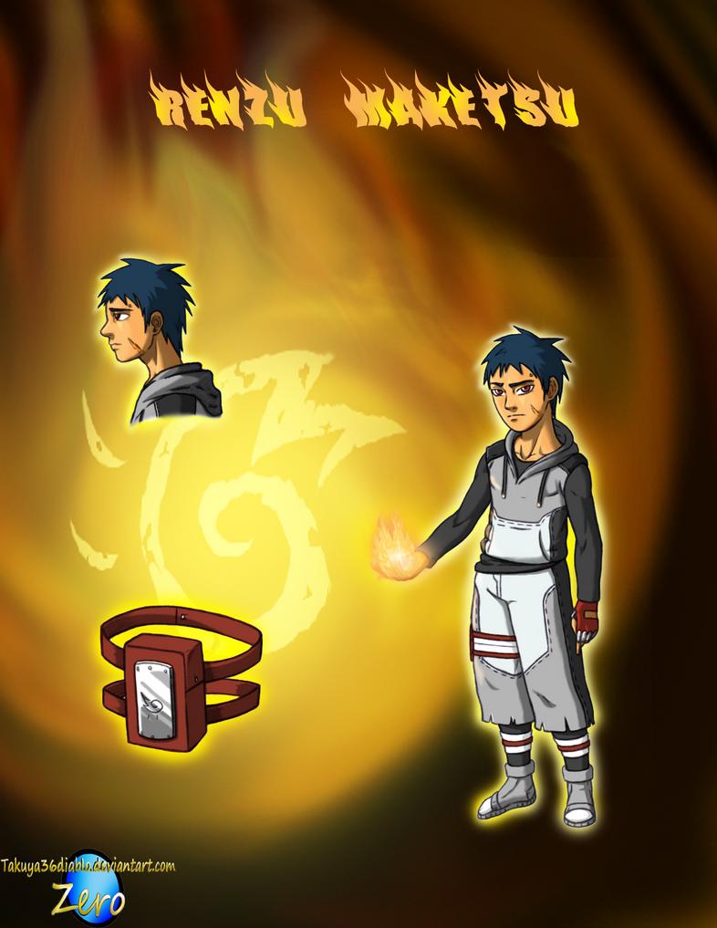 Renzu Maketsu of the Blaze by takuya36diablo