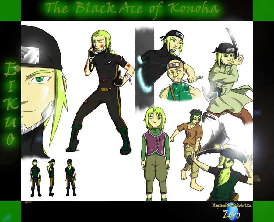 Eikuo - The Black Ace of Konoha 1 by takuya36diablo