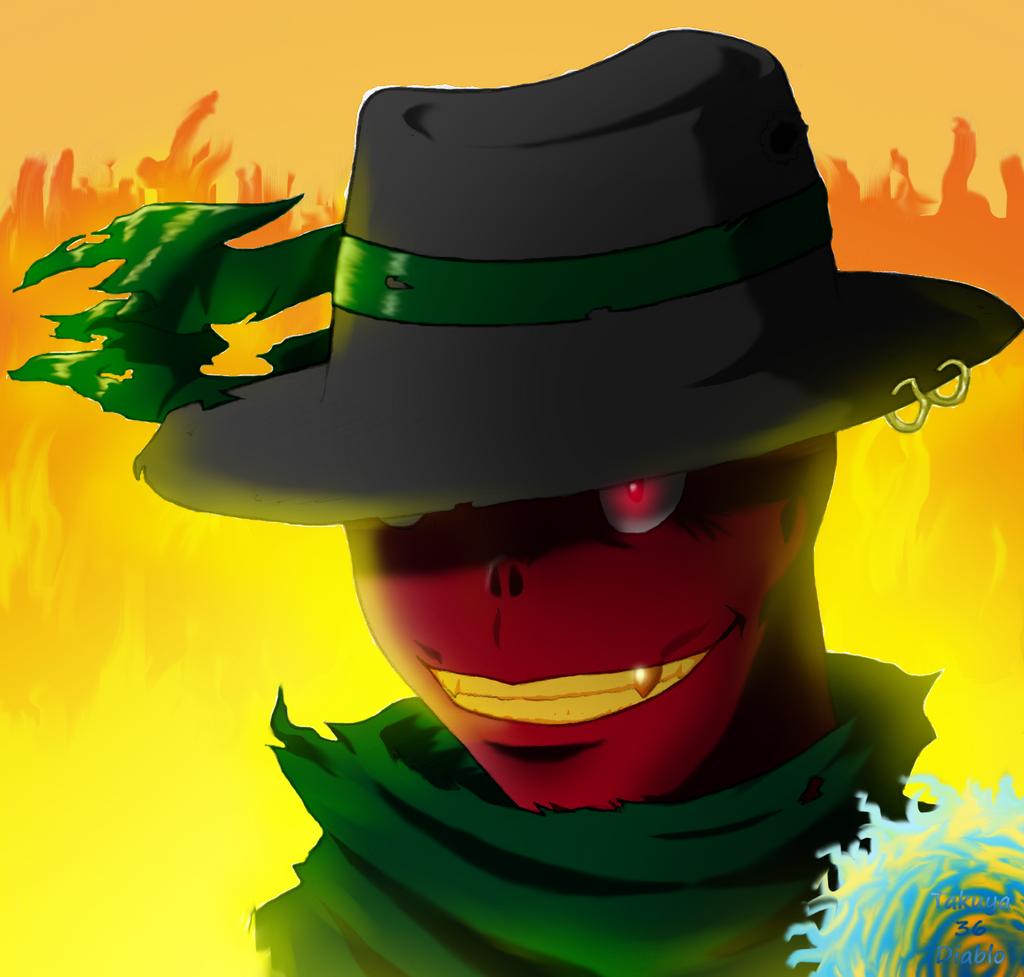 Demon Gunslinger Diablo by takuya36diablo