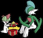 Ralts Christmas