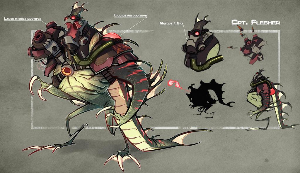 Flesher by DeadSlug