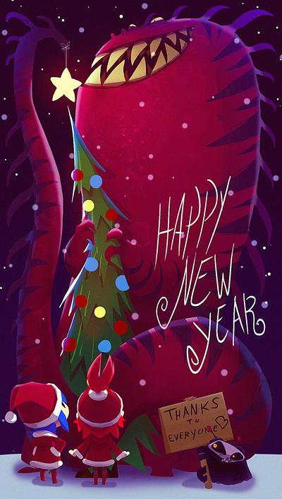 Happy new year by deadslug