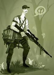 C'est pas ma guerre by DeadSlug