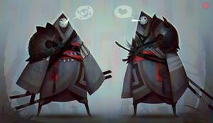 Twins by DeadSlug