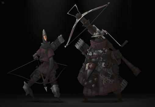 Arrow and Crossbow