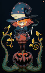 Pumpkin Witch